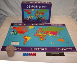 GeoDice Countries Geography Game GeoToys World Geography Ages 6 and up G... - $24.87