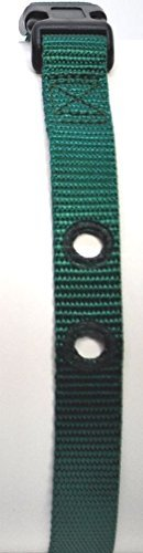 "Dog Fence Receiver Heavy Duty Replacement Strap 1"", Green"