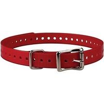 Sparky PetCo Garmin Compatible 3/4-Inch Red Collar Strap for Garmin Delta Ser...