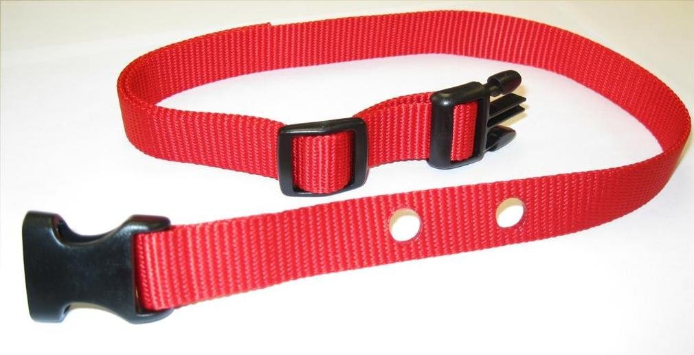 "Sparky PetCo PetSafe Compatible RFA 41 3/4 "" Medium Red Nylon 2 Hole 1.25"" Ap..."