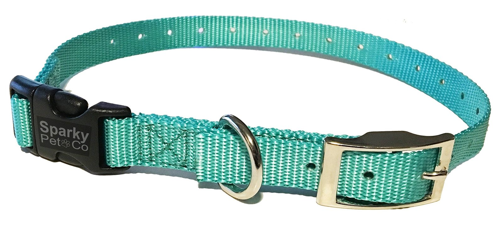 "Sparky PetCo Educator Compatible 3/4"" Nylon Double Buckle Quick Snap Replacem..."