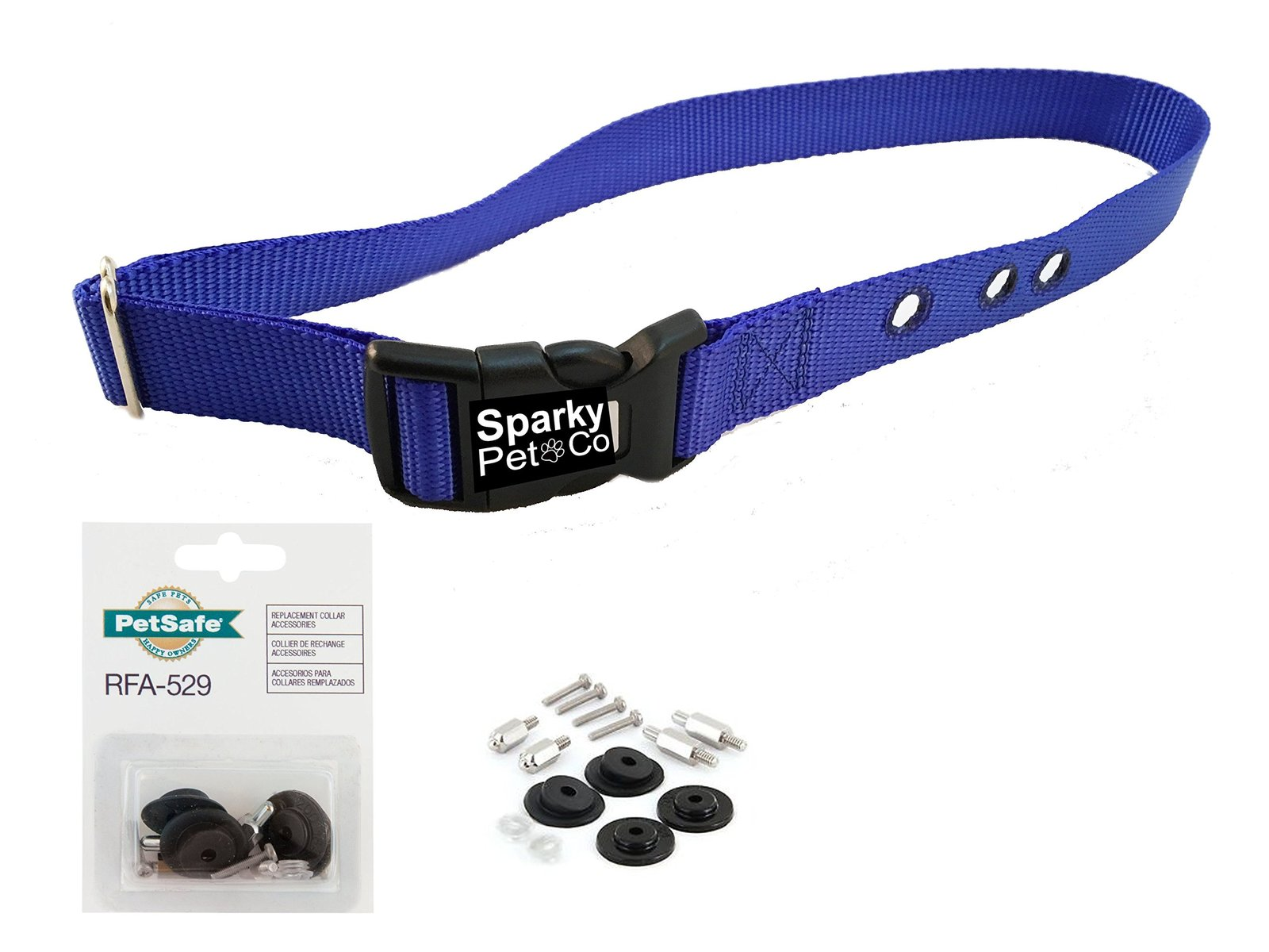 "Sparky PetCo PetSafe IF Compatible 3/4"" BC103 Replacement Bark Collars And Pe..."