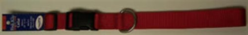 Kwik Klip Adjustable Dog Collar Large Red