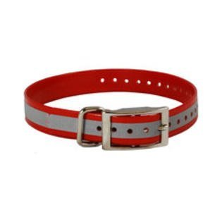 "SparkyPetCo 3/4"" Square Buckle High Flex Reflective Dog Strap For Garmin Dogt..."