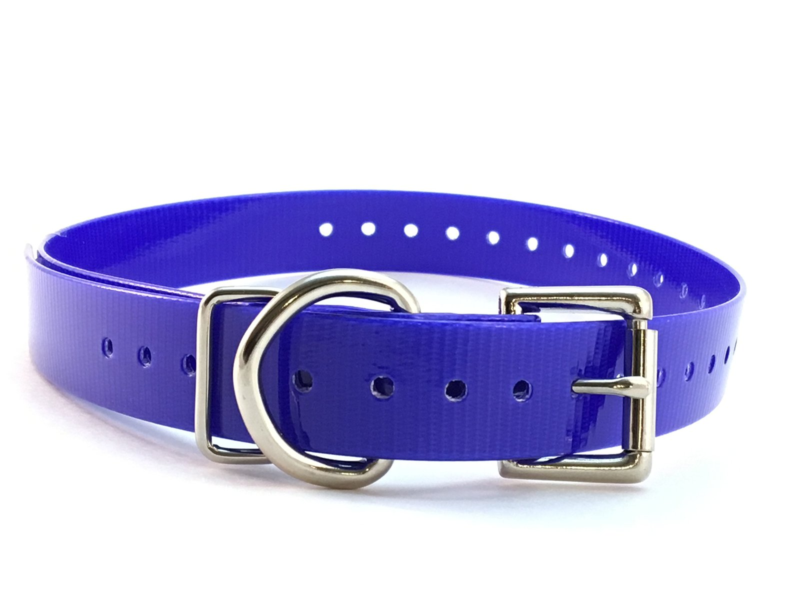 Sport Dog 3/4' High Flex Waterproof Roller Buckle Dog Strap, Blue