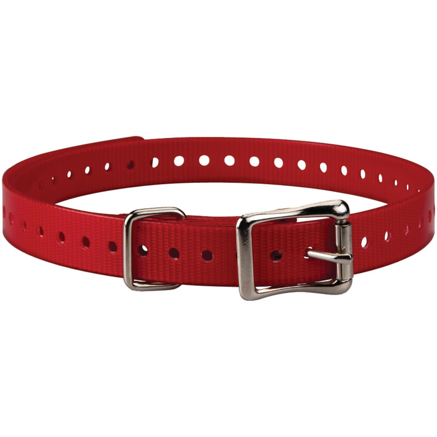 Garmin Compatible 3/4-Inch Red Collar Strap for Garmin Delta Series
