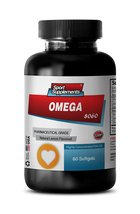 Natural Omega 3 Tablets - Omega 8060 - Natural Fish Oil Supplement for P... - $13.99