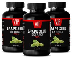 Grapeseed Vitamins - GRAPE SEED EXTRACT 100 - Heart Health Supplements 3... - $33.27