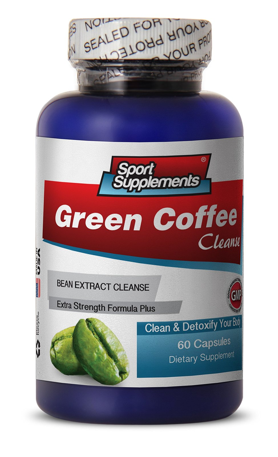 Pure green coffee bean extract 1200mg