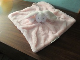 Blankets and Beyond Pink Bunny Security Blanket ALL PLUSH No Satin Lovie... - $74.45 CAD