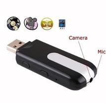 CLE USB CAMERA ESPION DETECTEUR DE MOUVEMENT MINI VIDEO PHOTO COULEUR SP... - $14.63