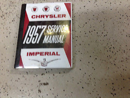 1957 CHRYSLER IMPERIAL Service Shop Repair Manual BRAND NEW FACTORY REPRINT - $59.35