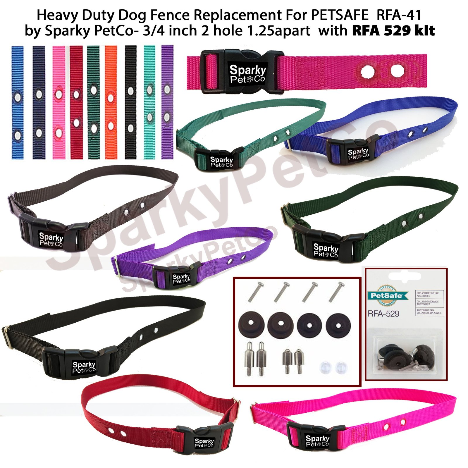 RFA 41  PetSafe Compatible Replacement Strap for PetSafe Containment Collar...