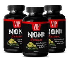 Great Morinda - NONI EXTRACT - Weight loss capsules - 3 Bottles 180 Caps... - $31.61