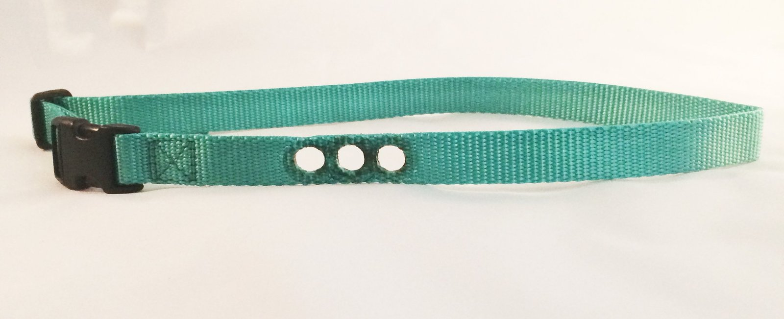"Sparky PetCo 1"" PetSafe Compatible Replacement 3 Hole Dog Bark Collar, Teal"
