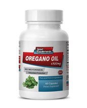 Oregano Oil Extract Dietary Supplement, Joint Health - 1 Bottle 60 Capsules - $13.25