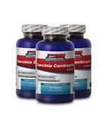 PURE GARCINIA CAMBOGIA PREMIUM EXTRACT 1300 - Lose weight supplement - 3... - $35.95