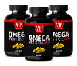 Premium Fish Oil 8060 Super Strength Supplement - Omega 3 and Fatty Acid... - $39.19