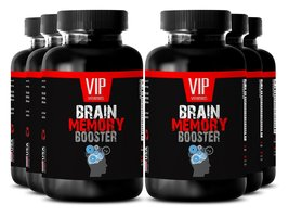 Ginkgo Memory - BRAIN AND MEMORY BOOSTER - Focus energy supplement (6 Bo... - $63.65