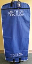Phi Beta Sigma Fraternity Travel Garment Bag Greek Fraternity Garment Bag  - $53.89