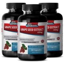 Grape seed pills - Grape Seed Extract - Antioxidant powder (3 Bottles - ... - $36.99