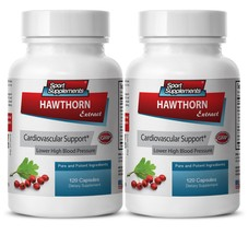 Hawthorn berry supplement - Hawthorn Berry Extract 240 Capsules - Mainta... - $27.95