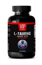 Pure Taurine 500mg - L-TAURINE 500MG - Muscle And Fitness 1 Bottle 100 C... - $13.67