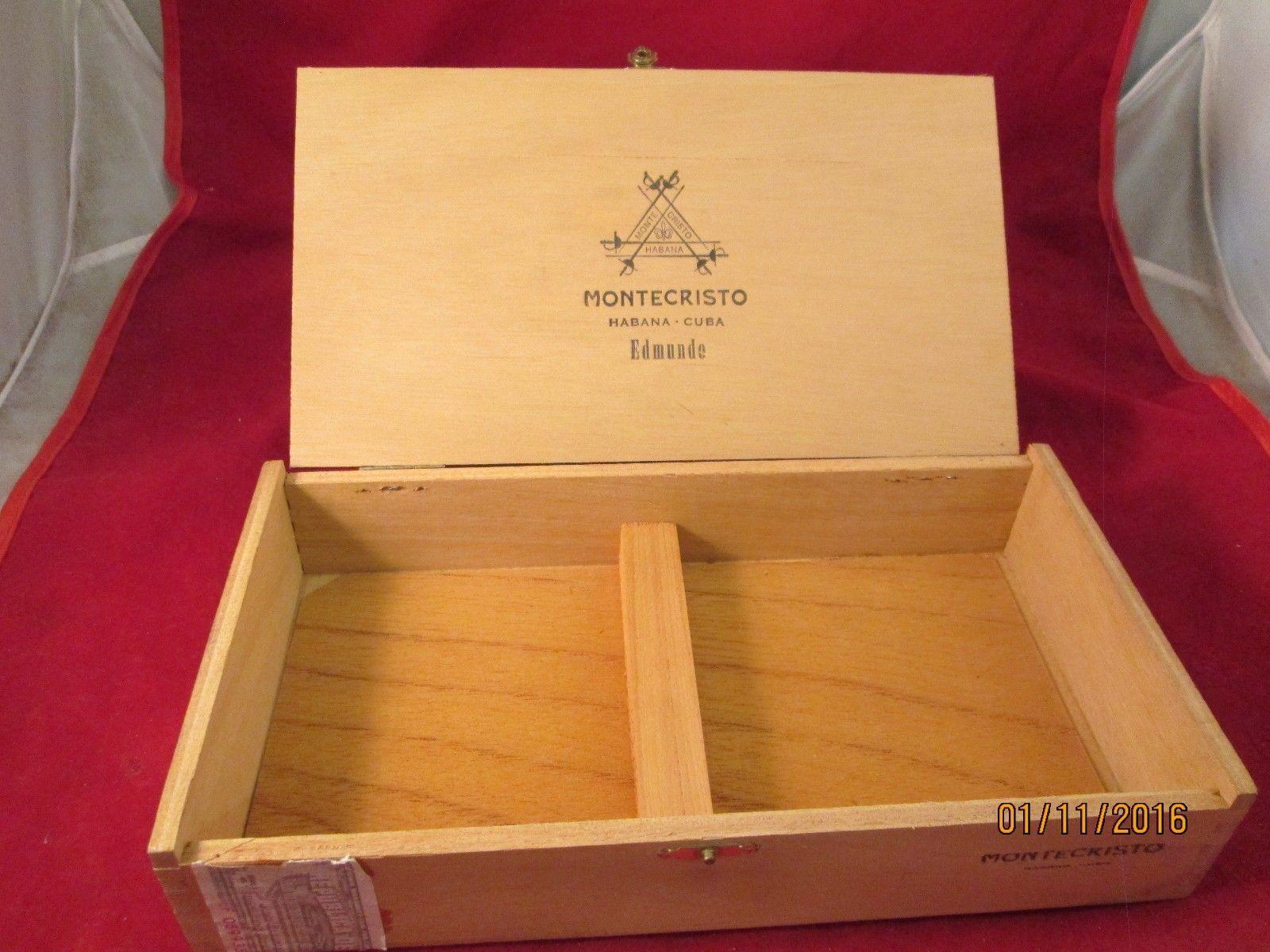 Montecristo Wood Cigar Box and 50 similar items 5f33c117ced54