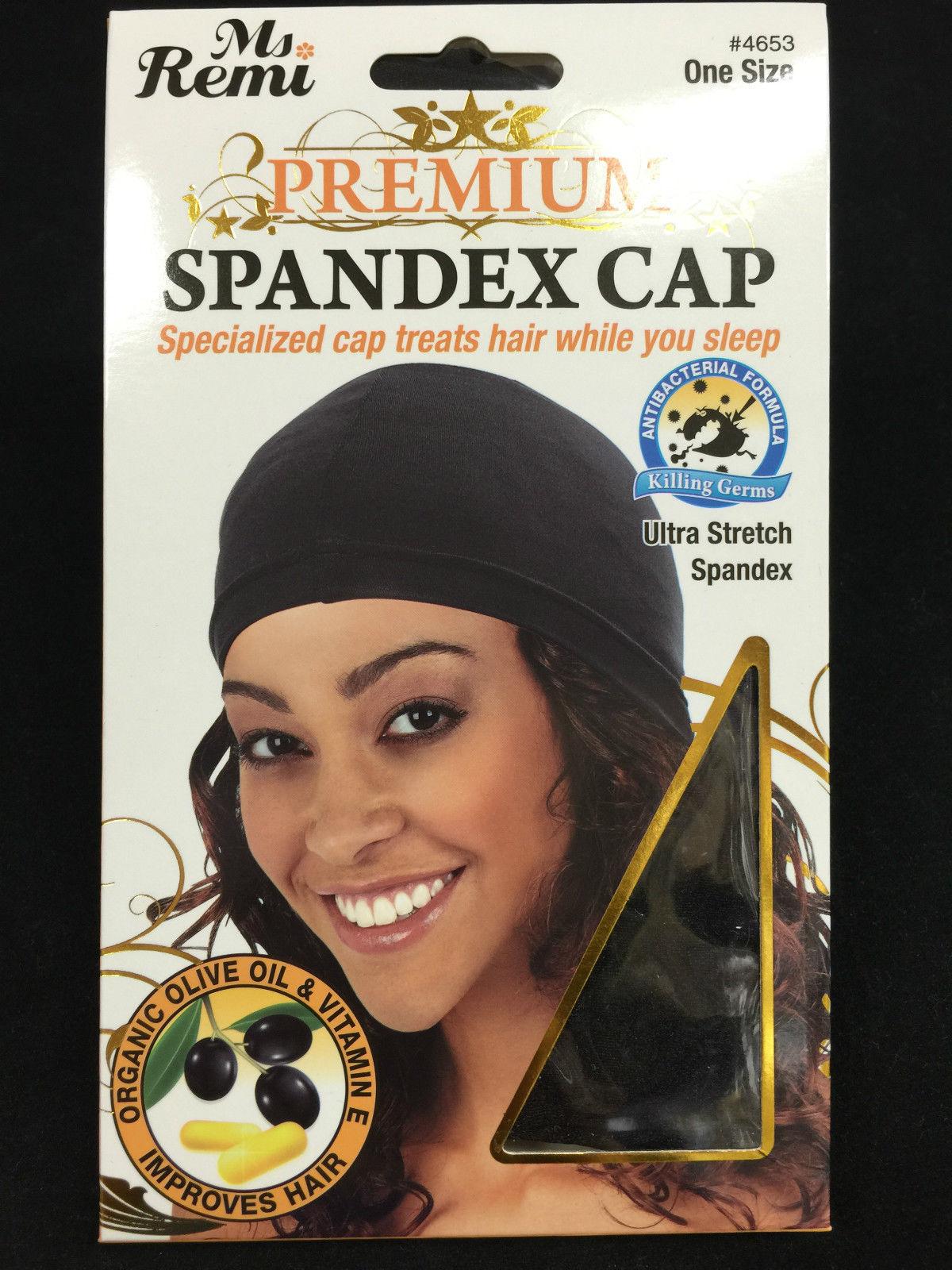 ANNIE PREMIUM SPANDEX CAP ULTRA STRETCH SPANDEX ANTIBACTERIAL FORMULA #4653