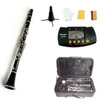MERANO B FLAT BLACK CLARINET WITH CASE + FREE MERANO METRO TUNER,STAND,1... - $99.99