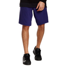 Adidas Men's Indigo Team Issue Solid Climalite Shorts with Pockets, Medi... - $29.99