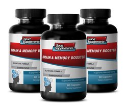 Memory Supplement Supports Focus - Brain and Memory Booster - Improve En... - $35.99