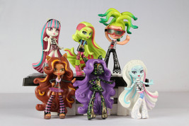 Monster High Vinyl Collection Rochelle Clawdeen Wolf Abbey Deuce loose F... - $14.84