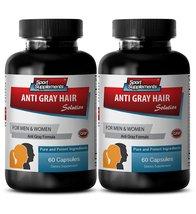 Folic acid capsules - Anti Gray Hair - Gray hai... - $25.95