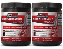 L-glutamine 1000mg - L Glutamine - Improves blood sugar (2 Bottles) - $31.95