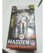 TOM BRADY QB #12 Madden Mcfarlane 19 Action Figure 6X PATRIOTS SUPERBOWL... - $35.53