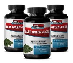 Top Immune System And Digestion Support - Klamath Blue Green Algae 500mg - (3... - $35.99