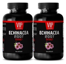 Echinacea herb - ECHINACEA ROOT EXTRACT - Cold remedy - 2 Bottles 200 Ca... - $20.53