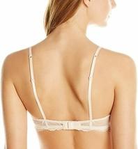Heidi Klum Intimates Women's Cream Tan Floral Hibiscus Lace Sabine Underwire Bra image 2