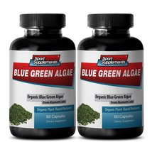 Dietary Supplement to Improve Fatigue - Klamath Blue Green Algae 500mg (... - $25.99