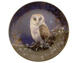 Wedgwood Night Owls Evening Watch Owl plate GB108 - $35.28