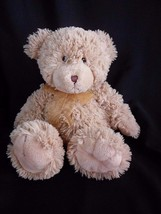 "First Impressions Tan Brown Teddy Bear Stuffed Animal Plush Baby Soft Toy 12"" - $14.65"
