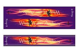 An item in the Sporting Goods category: White Water Archery WWA Grim Reaper Reap It Flames Purple Solid Color Stabilizer