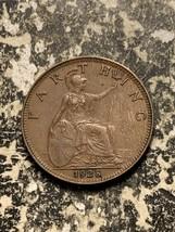 1928 Great Britain 1 Farthing Lot#Q7489 - $4.00