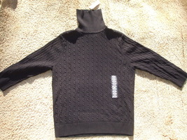 Sweater Turtleneck/ Black - $8.00