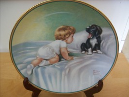"Hamilton Collection 1986 ""Who's Sleepy"" Collector's Plate - $22.00"