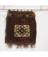 Hand Woven Wool Belouch Afghan Saddle Bags Wall... - $176.00