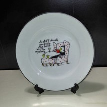 "Lot of 7 Pottery Barn Dessert / Salad Plates PENGUINS  7 3/4""   Made In ... - $46.74"