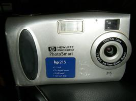 HP PhotoSmart 215 1.3 MP Digital Camera - Metallic silver - $11.42