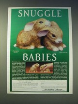 1989 Hamilton Collection Ad - Bunnies by Jacqueline Bardner Smith - $14.99